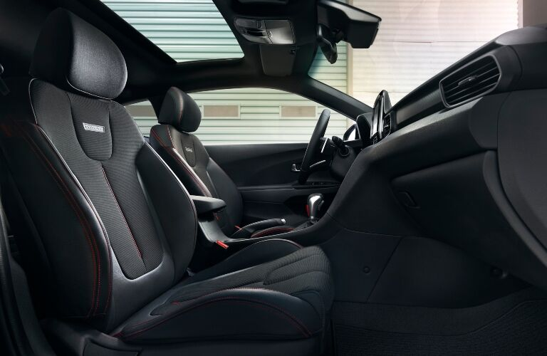 2020 Hyundai Veloster front seats