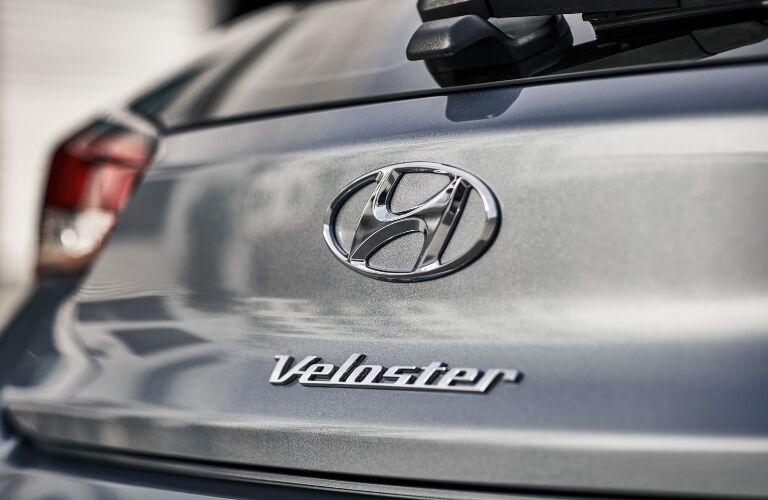 2020 Hyundai Veloster Badge