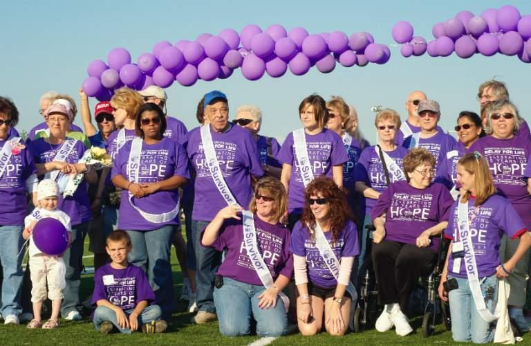 benefit walk for survivor groups