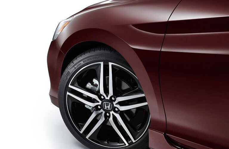 front wheel of the 2017 Honda Accord Sport sedan
