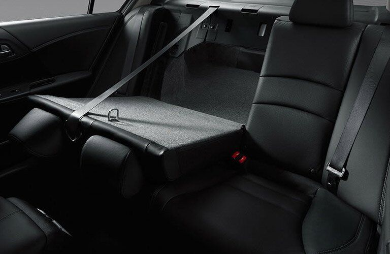 rear seats and cargo area of the 2017 Honda Accord Sport sedan