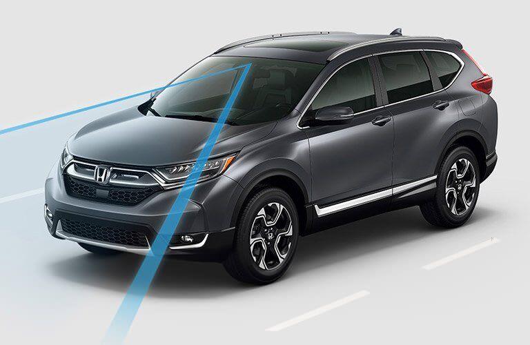 safety system on the 2017 Honda CR-V EX