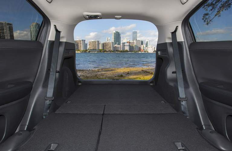 rear cargo area of the 2017 Honda HR-V