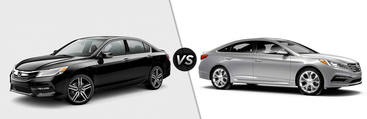 2017 Honda Accord vs 2017 Hyundai Sonata
