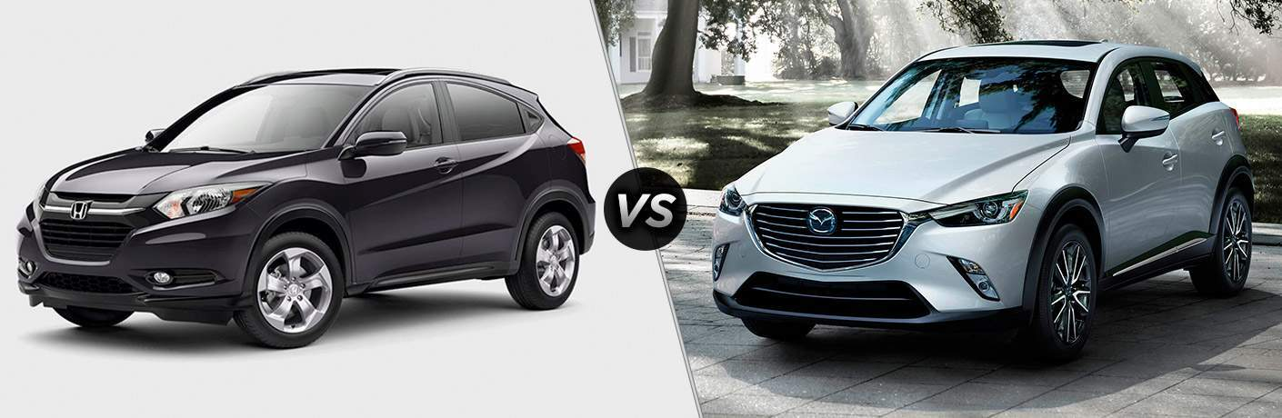 2017 Honda HR-V vs 2017 Mazda CX-3