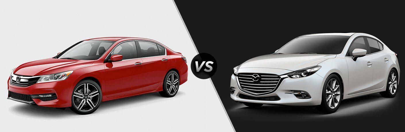 2017 Honda Accord vs 2017 Mazda3