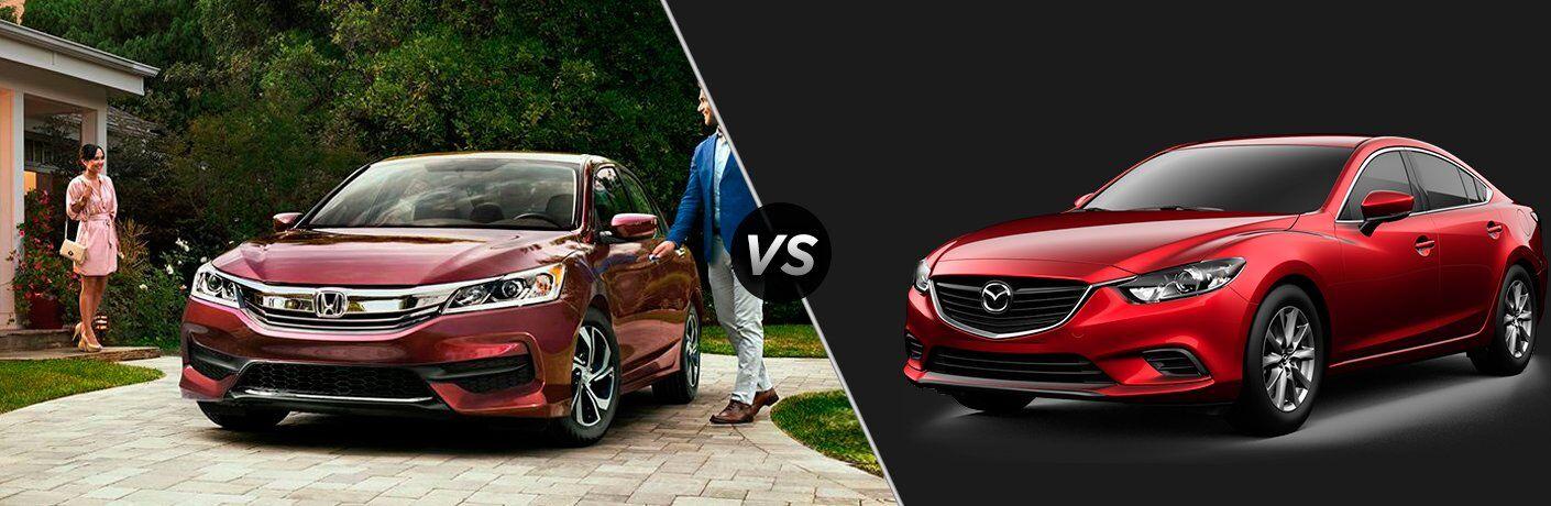 2017 Honda Accord vs 2017 Mazda6