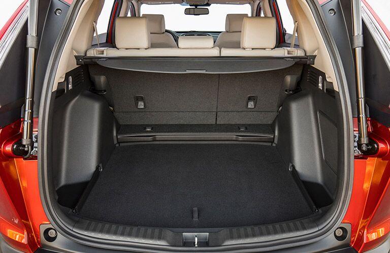 spacious cargo area of the 2017 Honda CR-V LX