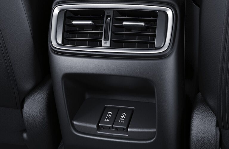 2019 Honda CR-V interior front cabin close up of vent