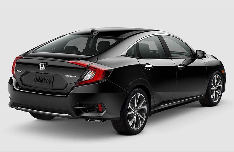 2019 Honda Civic Sedan Touring exterior back fascia and passenger side on blank space