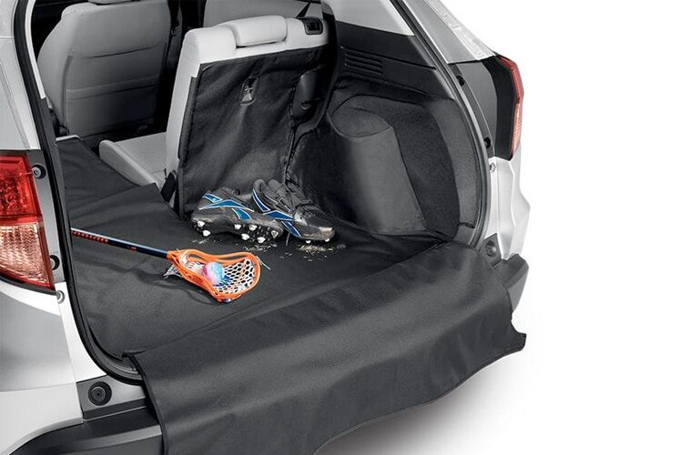 2019 Honda Civic Hatchback LX exterior looking at cargo space