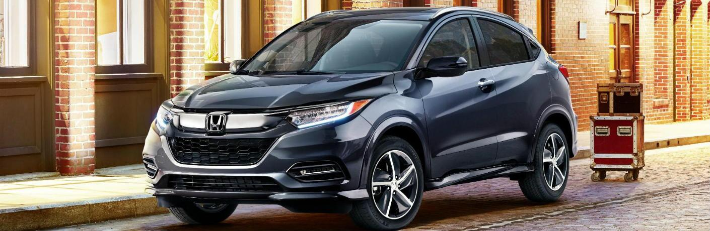 2019 Honda HR-V on the street