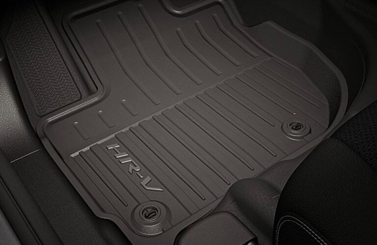 floor mats of the 2019 Honda HR-V LX