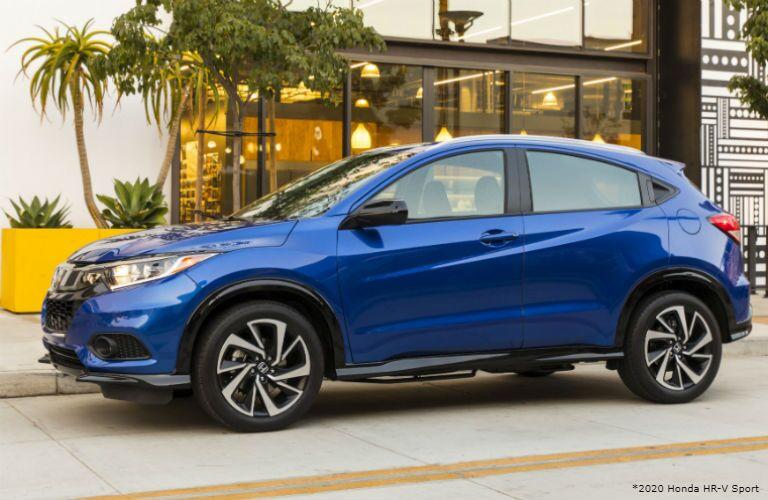 Blue 2020 Honda HR-V Sport