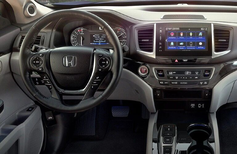Interior view of 2020 Honda Ridgeline