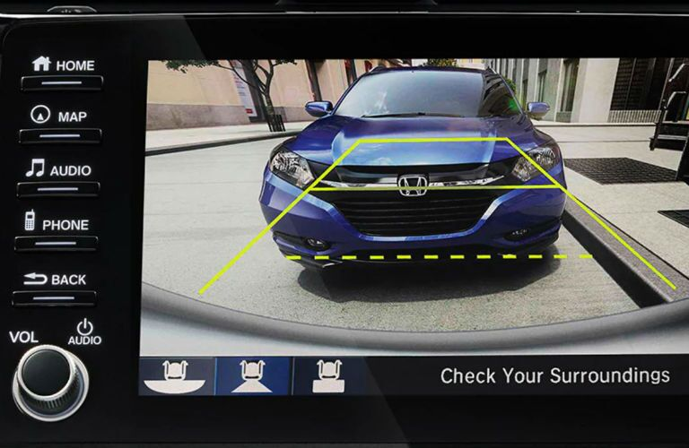 Backup camera in 2020 Honda Civic