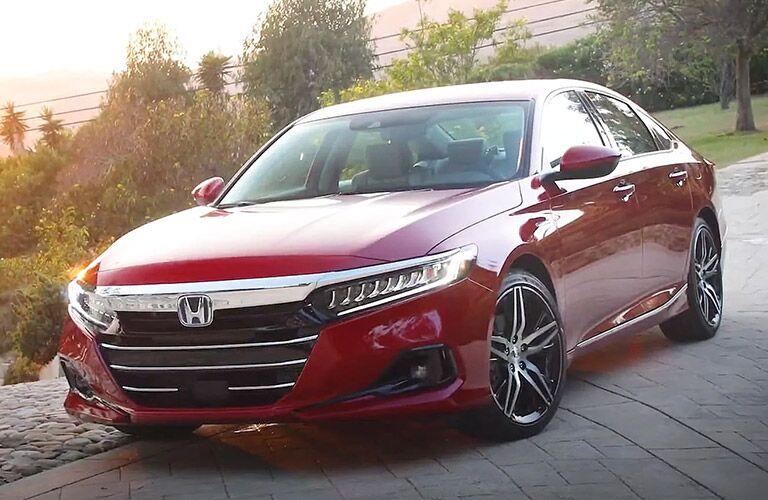 Red 2021 Honda Accord
