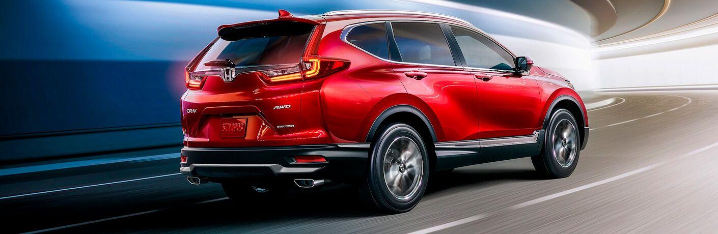 Red 2021 Honda CR-V