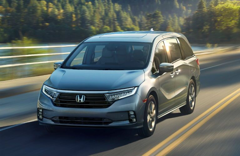 Grey 2021 Honda Odyssey