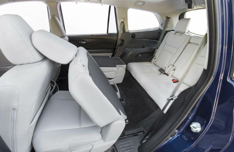 Rear seats in 2021 Honda Pilot