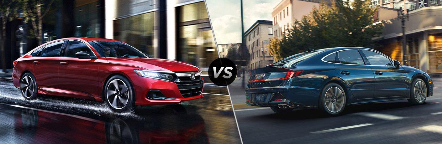 2021 Honda Accord vs 2021 Hyundai Sonata