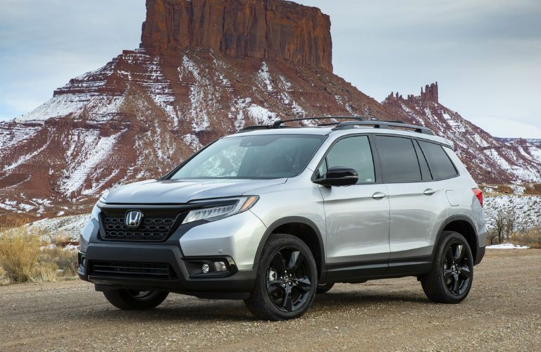 Silver 2021 Honda Passport