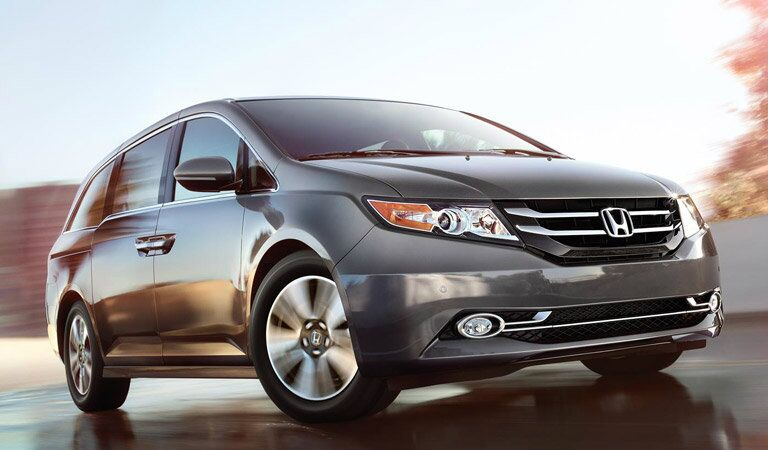 2016 Honda Odyssey looking bold and dramatic