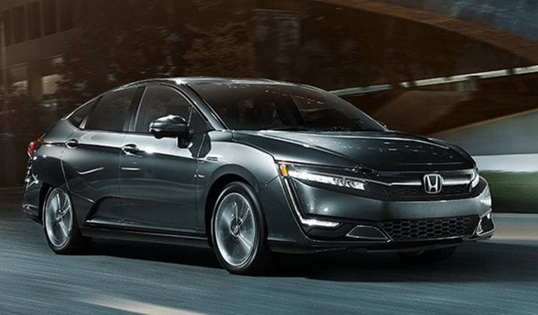 Honda Clarity front and side profile