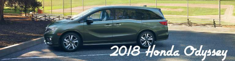 titled side image of the 2018 Honda Odyssey