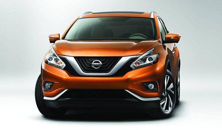 orange 2017 Nissan Murano exterior front