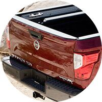 2017 Nissan Titan XD rear door