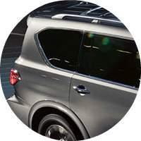 2018 Nissan Armada exterior rear side angle