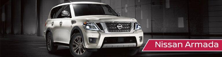 white 2017 Nissan Armada front exterior