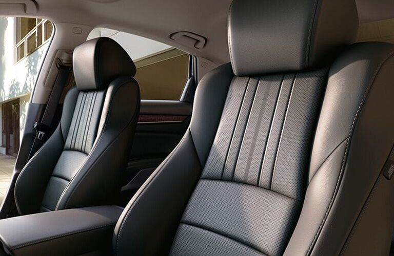 Interior seating in 2019 Honda Accord