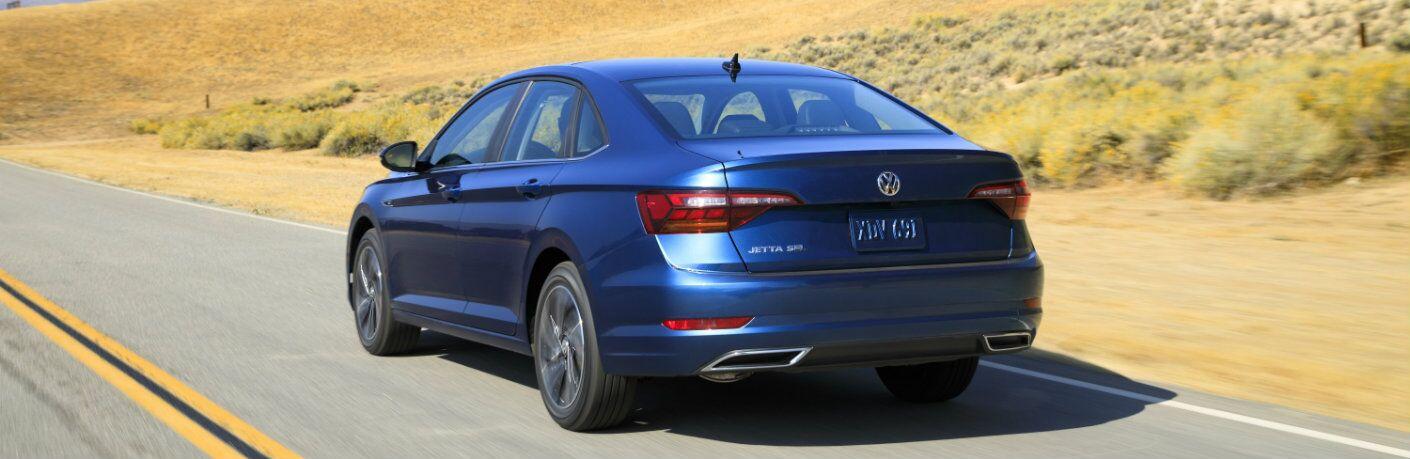 Rear end of the 2019 Volkswagen Jetta