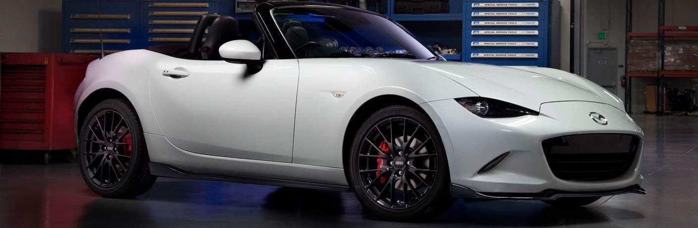 2017 Mazda MX-5 Miata exterior side white
