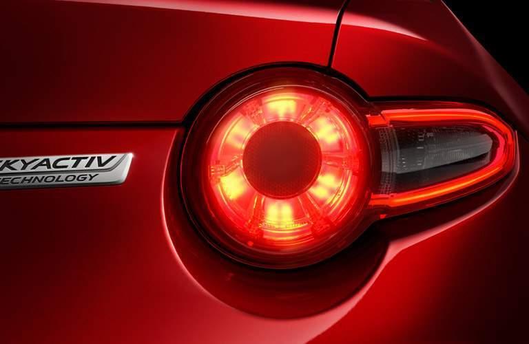 2017 Mazda MX-5 Miata taillight