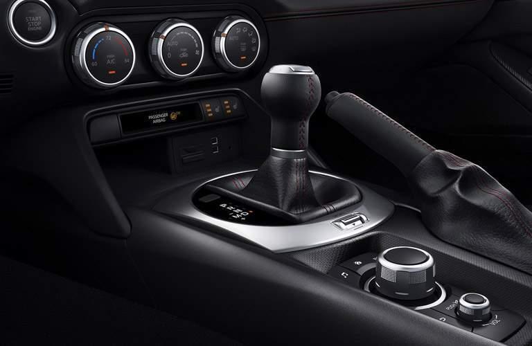 2017 Mazda MX-5 Miata manual transmission