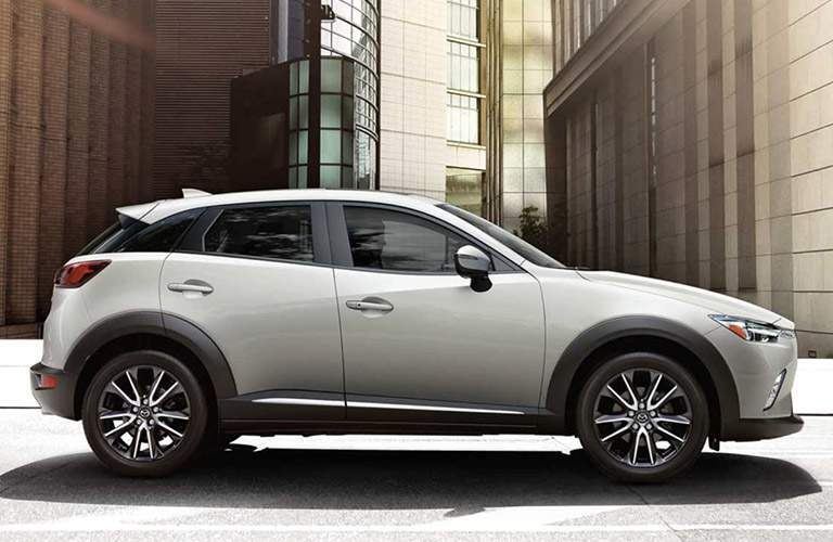 2018 Mazda CX-3 exterior side white