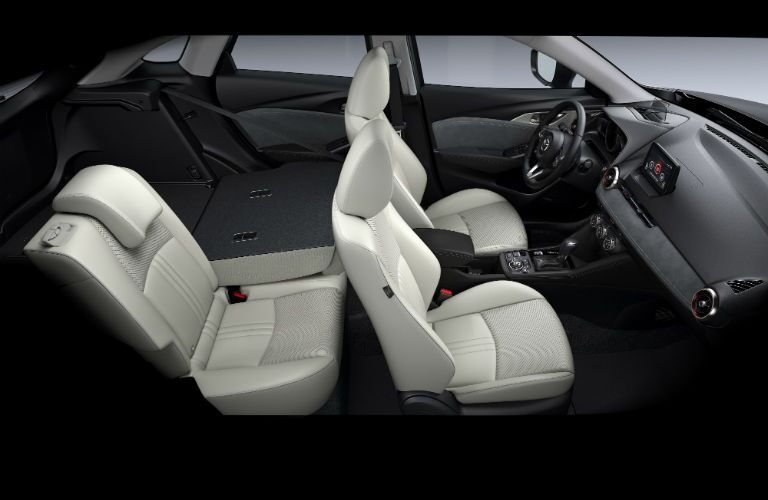 The 2019 CX-3 offers several different rear-seat configurations.