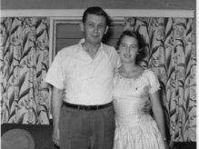 Bill Ussery and daughter, Patricia