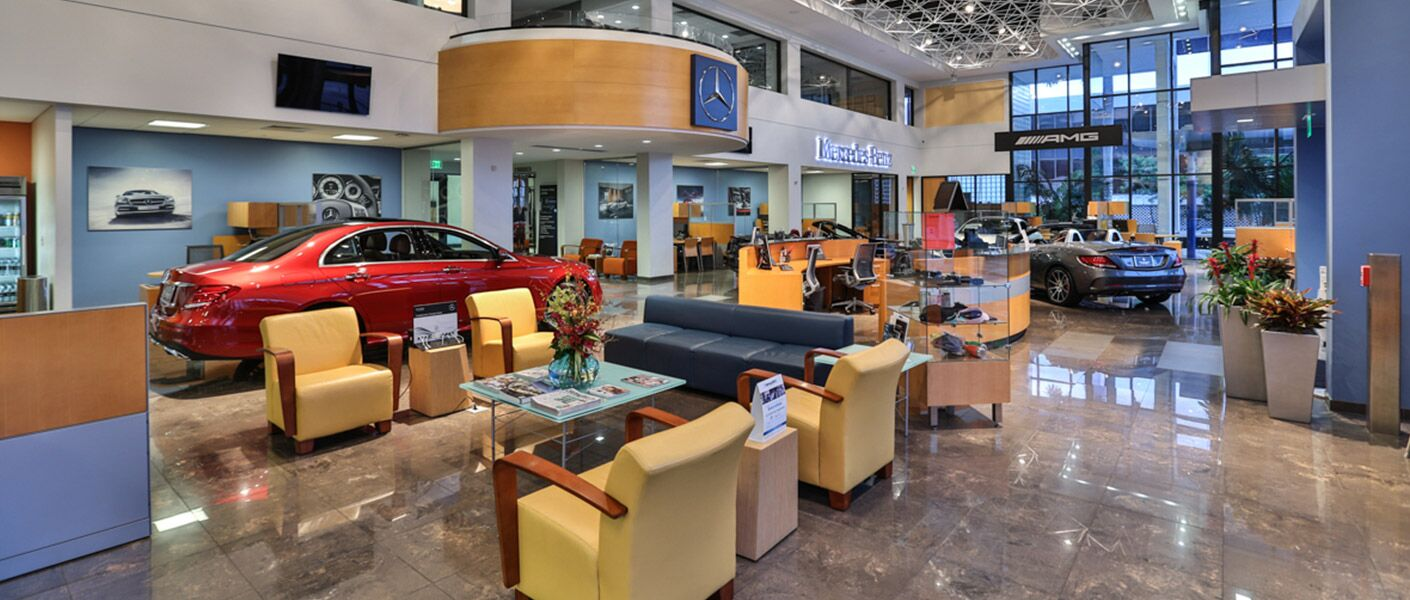 About bill ussery motors a miami fl dealership for Mercedes benz of coral gables service department