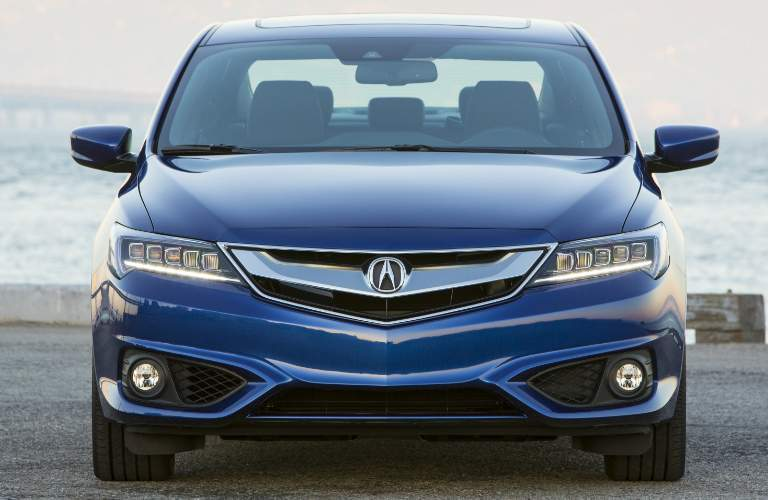 blue 2018 Acura ILX front grille design