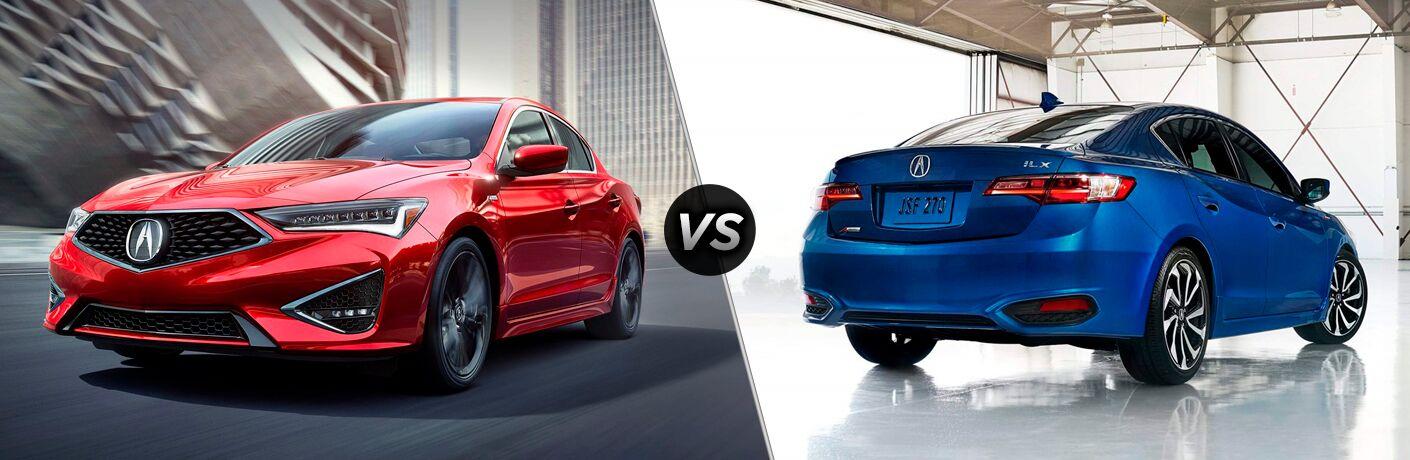 2019 Acura ILX vs 2018 Acura ILX