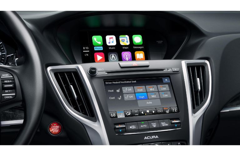 2020 Acura TLX dashboard display