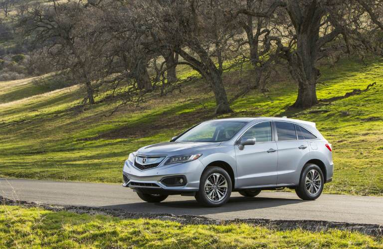 2017 Acura RDX parked near trees