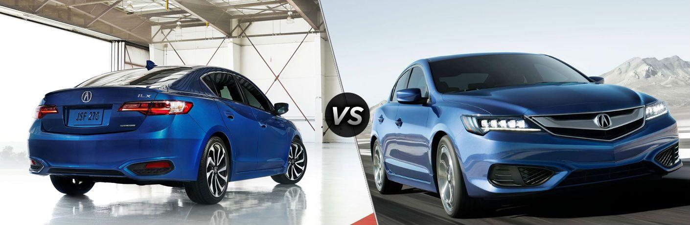 2018 Acura ILX Special Edition vs 2018 Acura ILX A-Spec