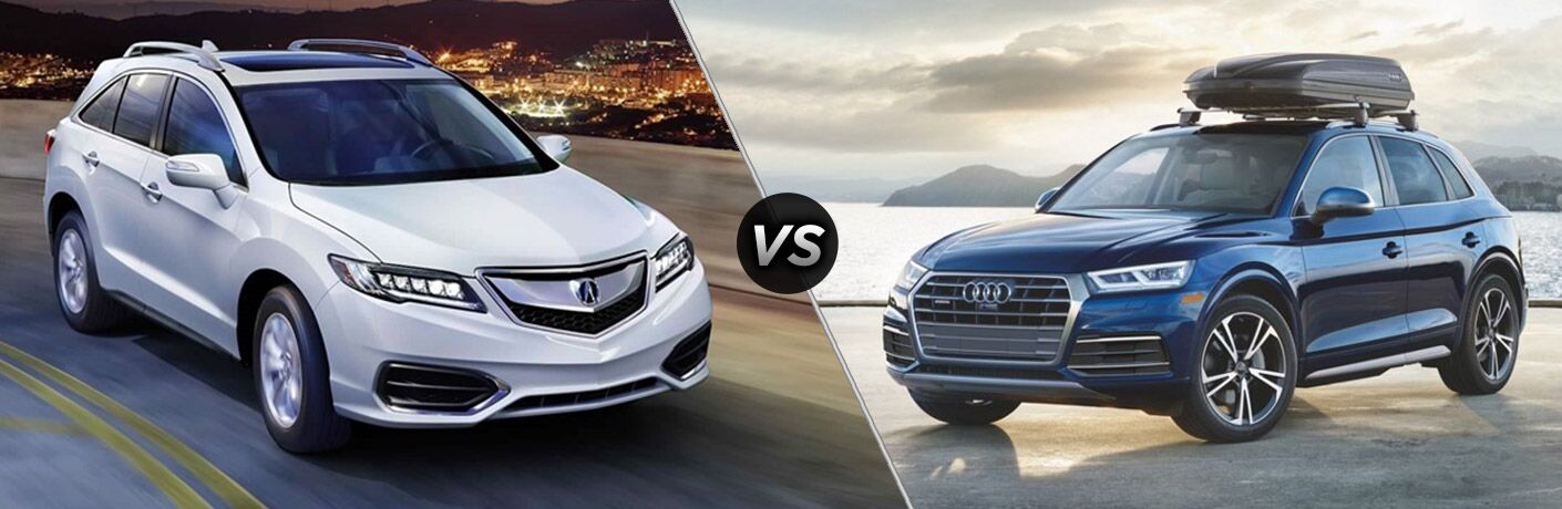 2018 Acura RDX vs 2018 Audi Q5
