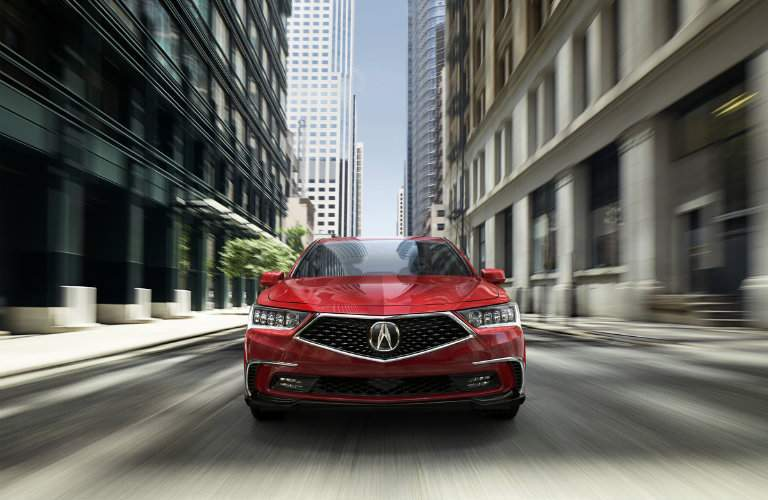 2018 Acura RLX red color option
