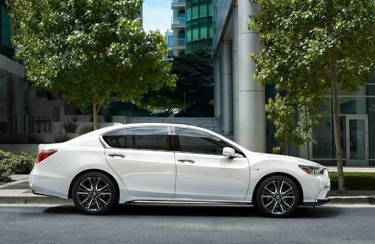 White 2018 Acura RLX Sport Hybrid SH-AWD
